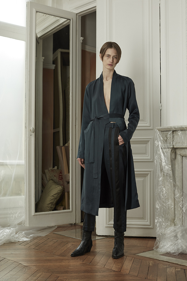 COAT - PANTS - GAITERS - ILARIA NISTRI FALL WINTER 2018 COLLECTION