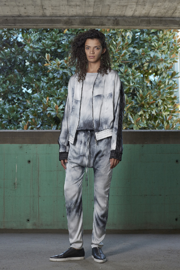 TIE-DYE BOMBER - TIE-DYE JUMPSUITE - COLLECTION ILARIA NISTRI SPRING SUMMER 2018