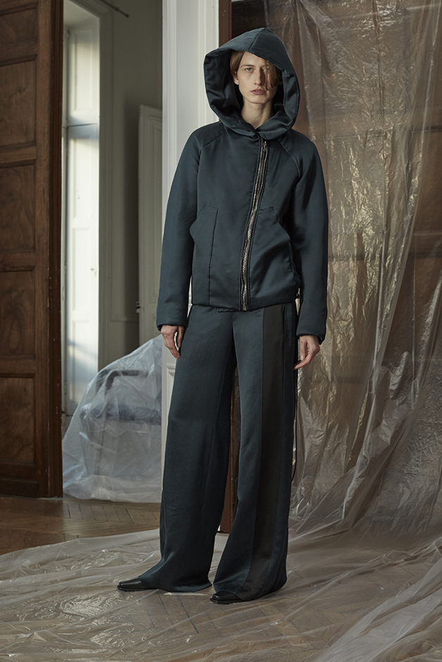 BOMBER JACKET - PANTS - ILARIA NISTRI FALL WINTER 2018 COLLECTION