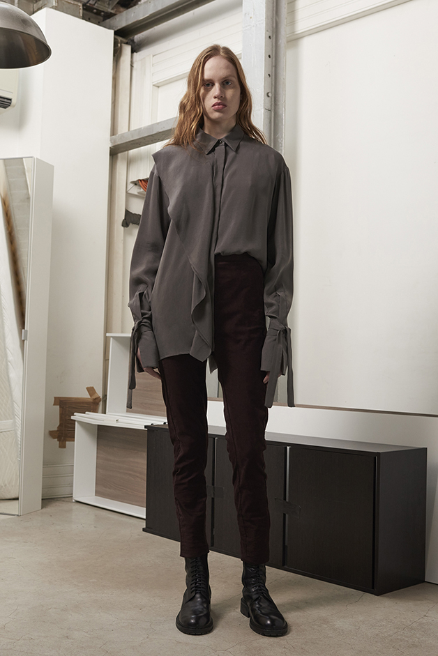 ILARIA NISTRI FALL WINTER 2016 COLLECTION blouse pants