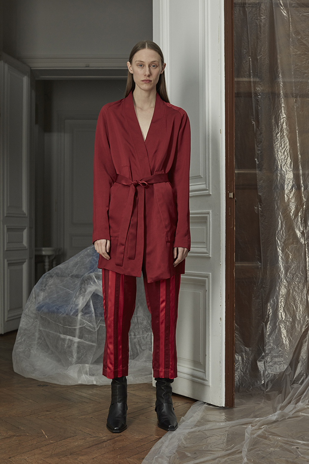 DRESS - SHORTS - GAITERS - ILARIA NISTRI FALL WINTER 2018 COLLECTION