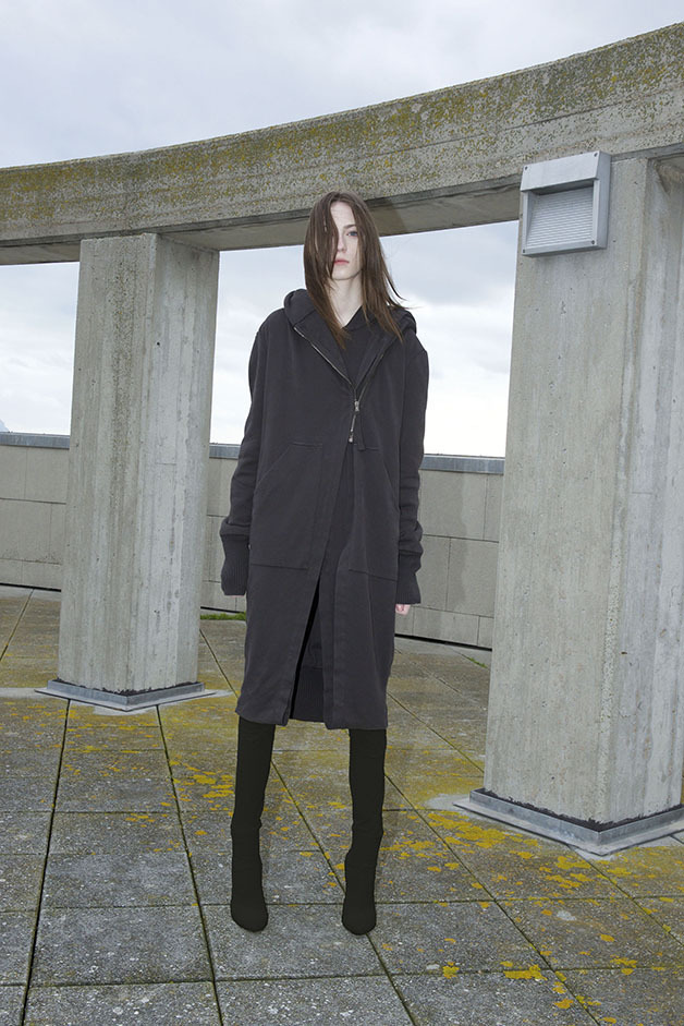 ROQUE FALL WINTER COLLECTION 2017 LONG JACKET DRESS