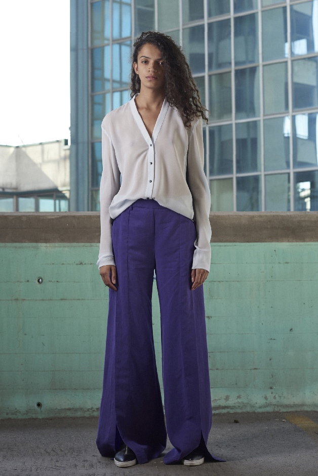 BLOUSE - PANTS - COLLECTION ILARIA NISTRI SPRING SUMMER 2018