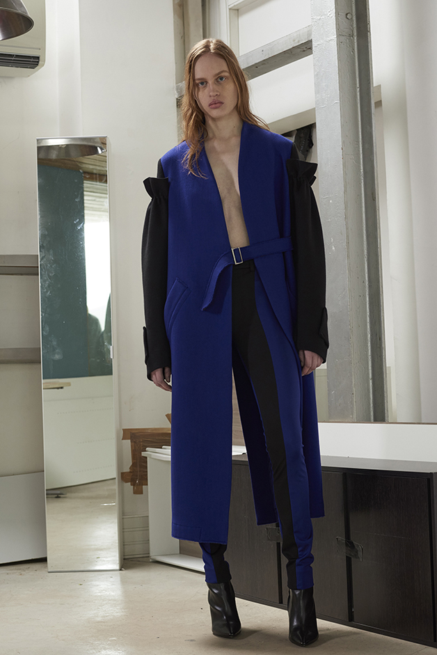 ILARIA NISTRI FALL WINTER 2016 COLLECTION coat leggings