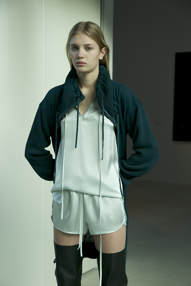 CARDIGAN - BLOUSE - SHORTS - ROQUE FALL WINTER 2018 COLLECTION