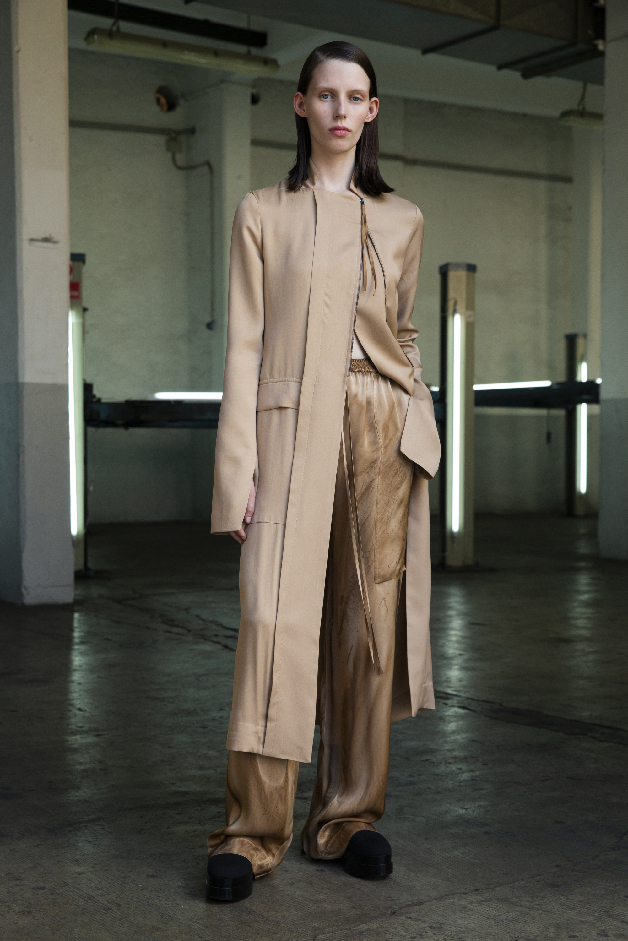 long jacket - pants - spring summer 2019 collection