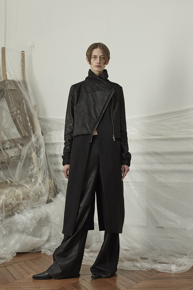 LEATHER COAT - LEATHER PANTS - ILARIA NISTRI FALL WINTER 2018 COLLECTION