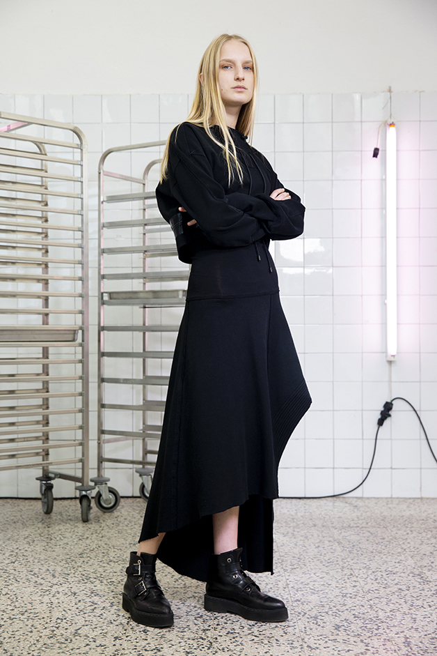 sweater - skirt - ilaria nistri roque fall winter 2019 collection